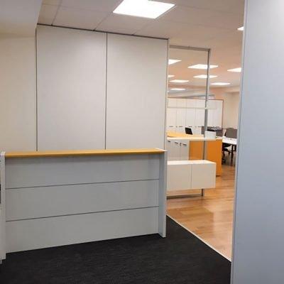 mobili per ufficio su misura