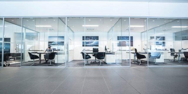 mobili per ufficio como