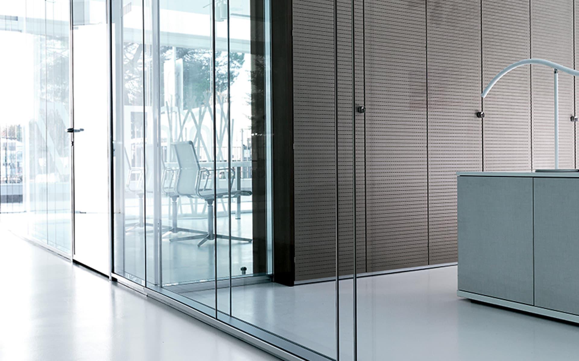 Le pareti per ufficio su misura   arredoufficio   arredamento per ...