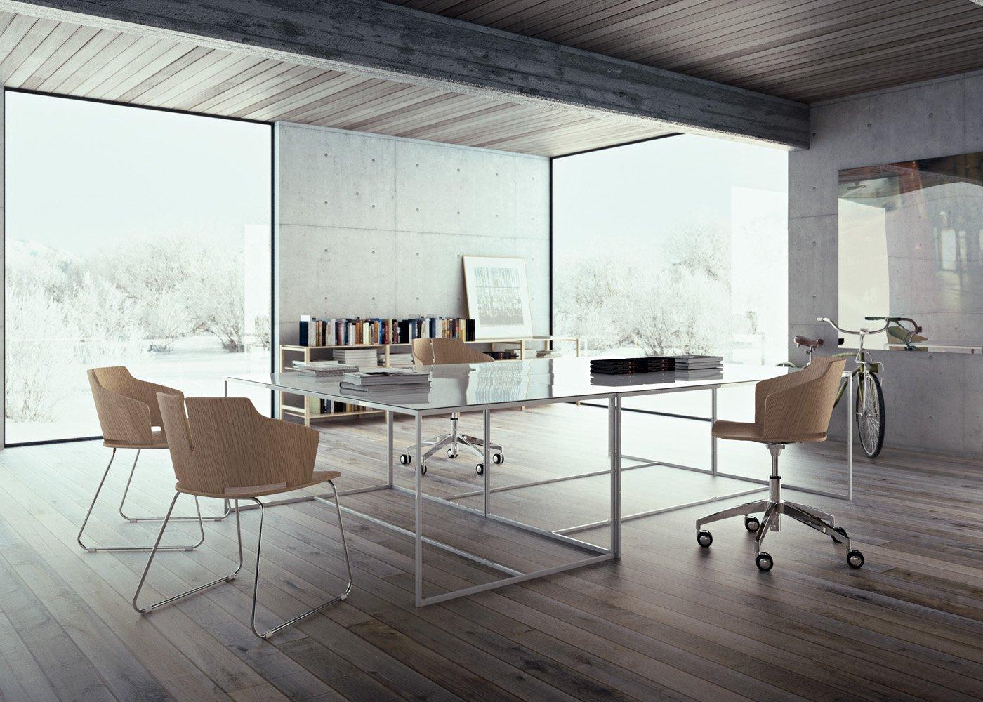 Sedie per ufficio arredamento per ufficio mobili per for Sedie economiche per ufficio