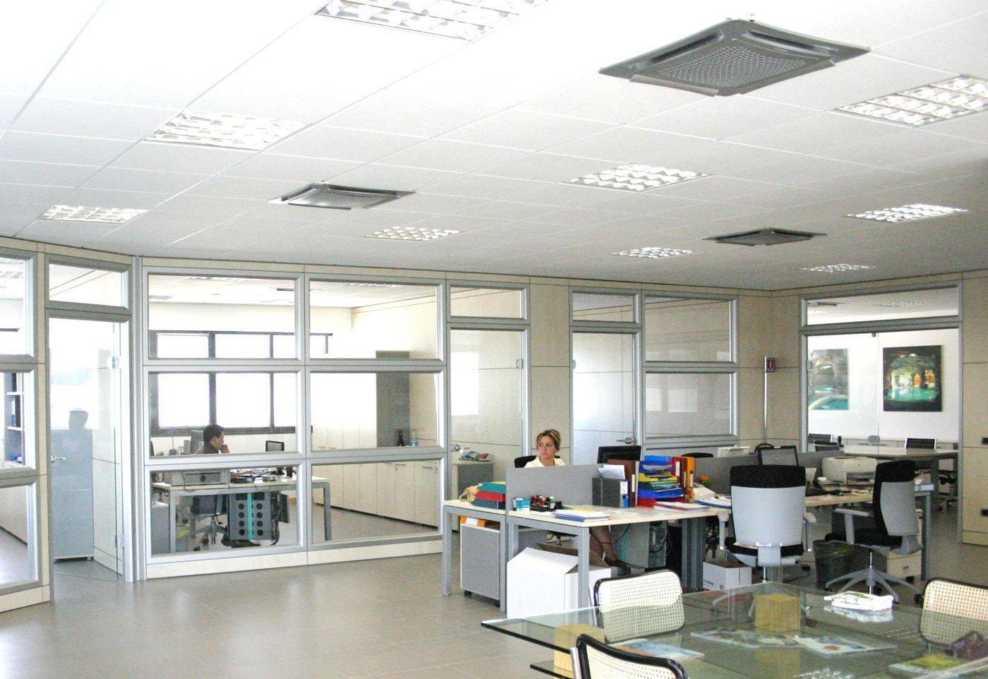 Ufficio In Cartongesso : Cartongesso e controsoffitto per ufficio