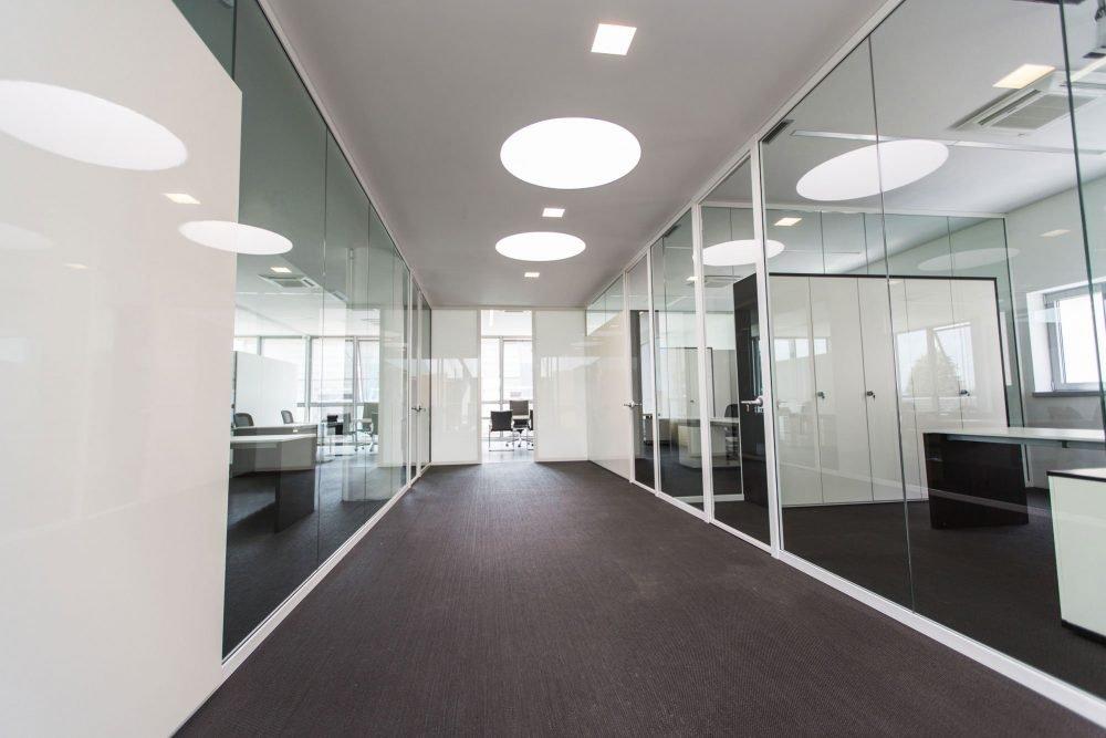 illuminotecnica per ufficio