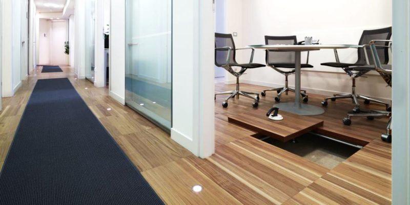 pavimenti sopraelevati per ufficio