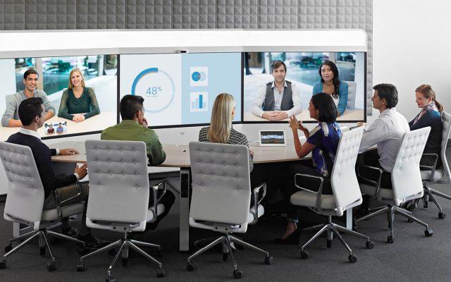 video-conferenza ufficio