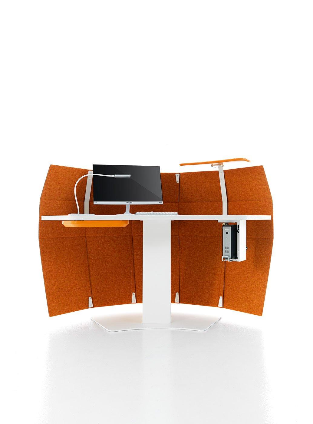Fanny sat scrivania per ufficio arredamento per ufficio for Reception scrivania
