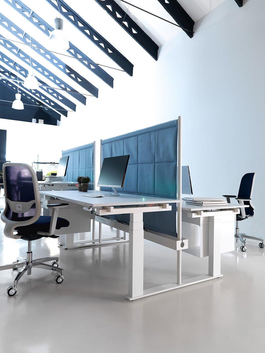 Scrivanie per ufficio tabula mobili per uffici operativi for Arredo ufficio operativo