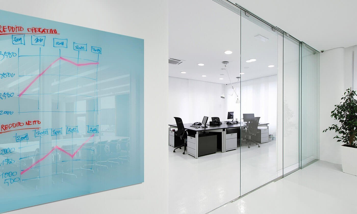 Lavagna magnetic glass accessori per l 39 ufficio for Accessori design per ufficio