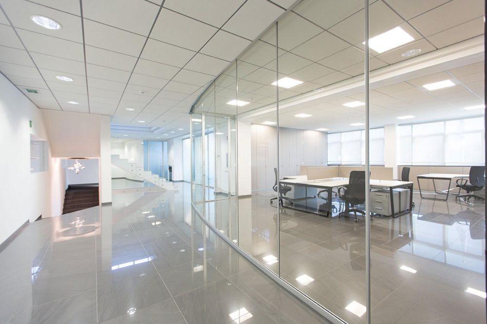 Pareti divisorie per ufficio arredoufficio arredamento for Pareti per ufficio