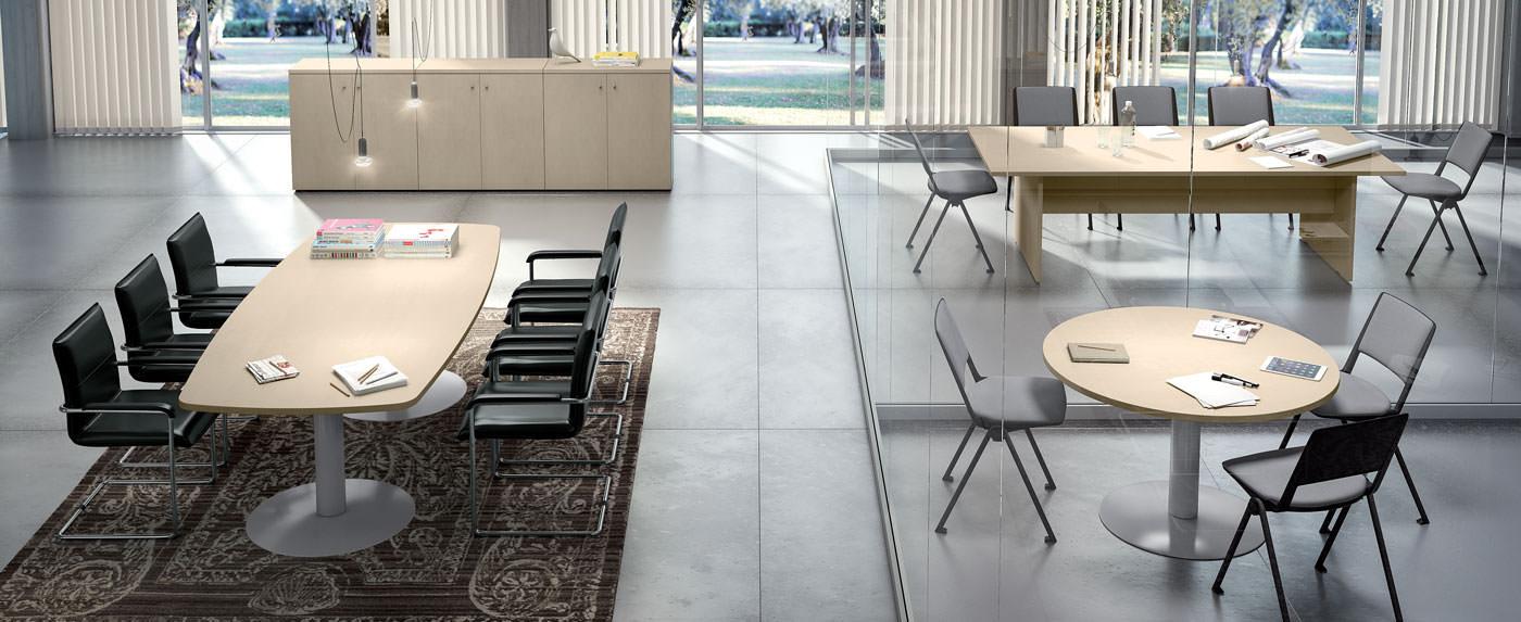 Square meeting mobili operativi per ufficio for Arredamento uffici napoli
