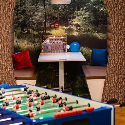 area relax in ufficio