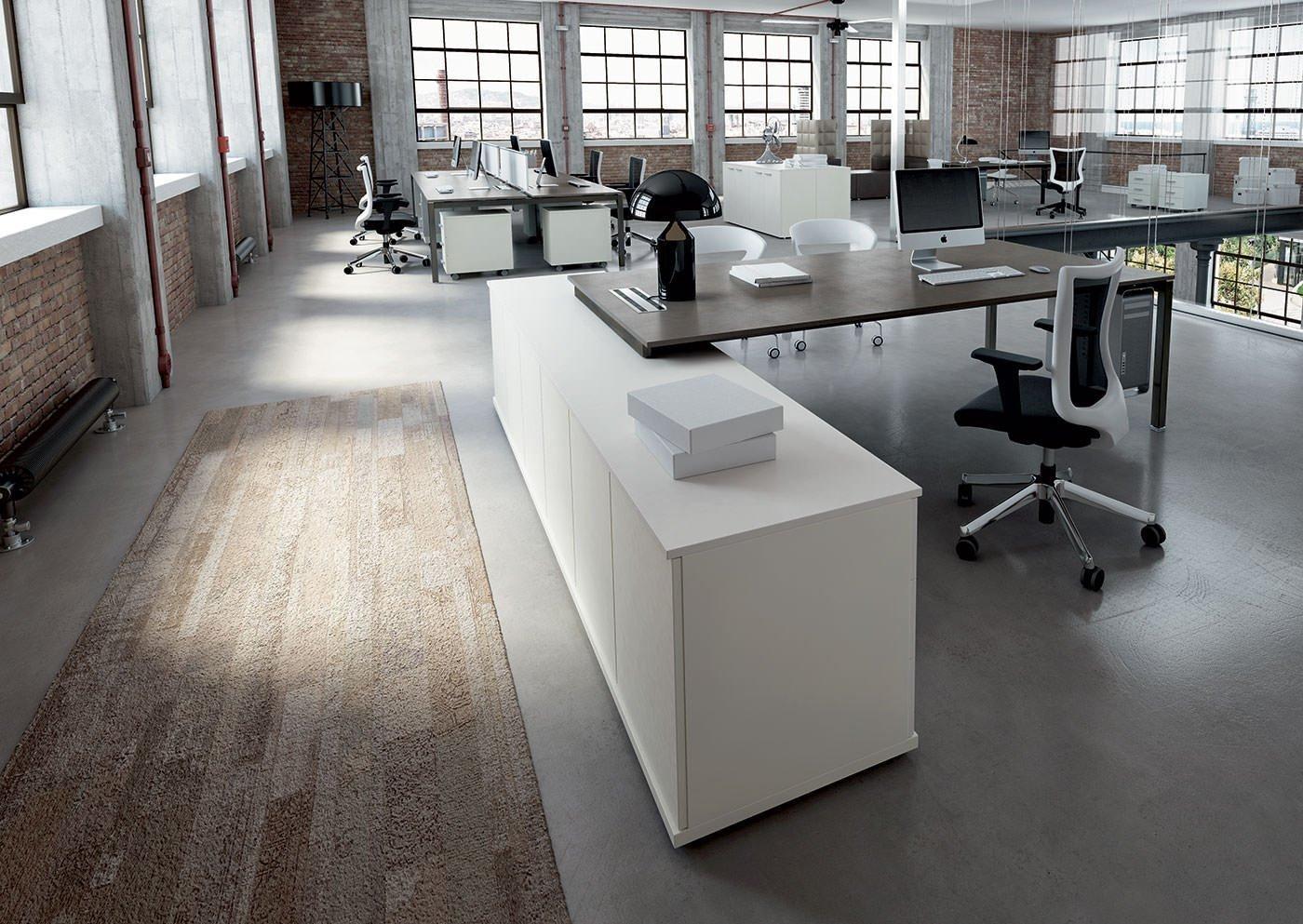 Cappalight mobili operativi arredamento uffici for Mobili ufficio wenge