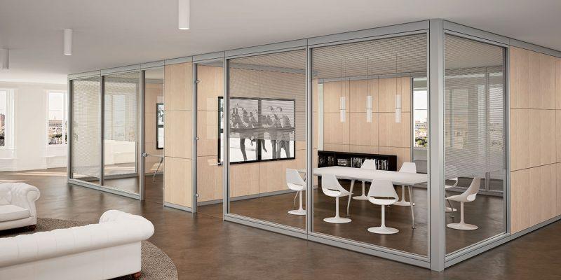 Pareti divisorie per ufficio pareti per ufficio for Divisori mobili per ufficio