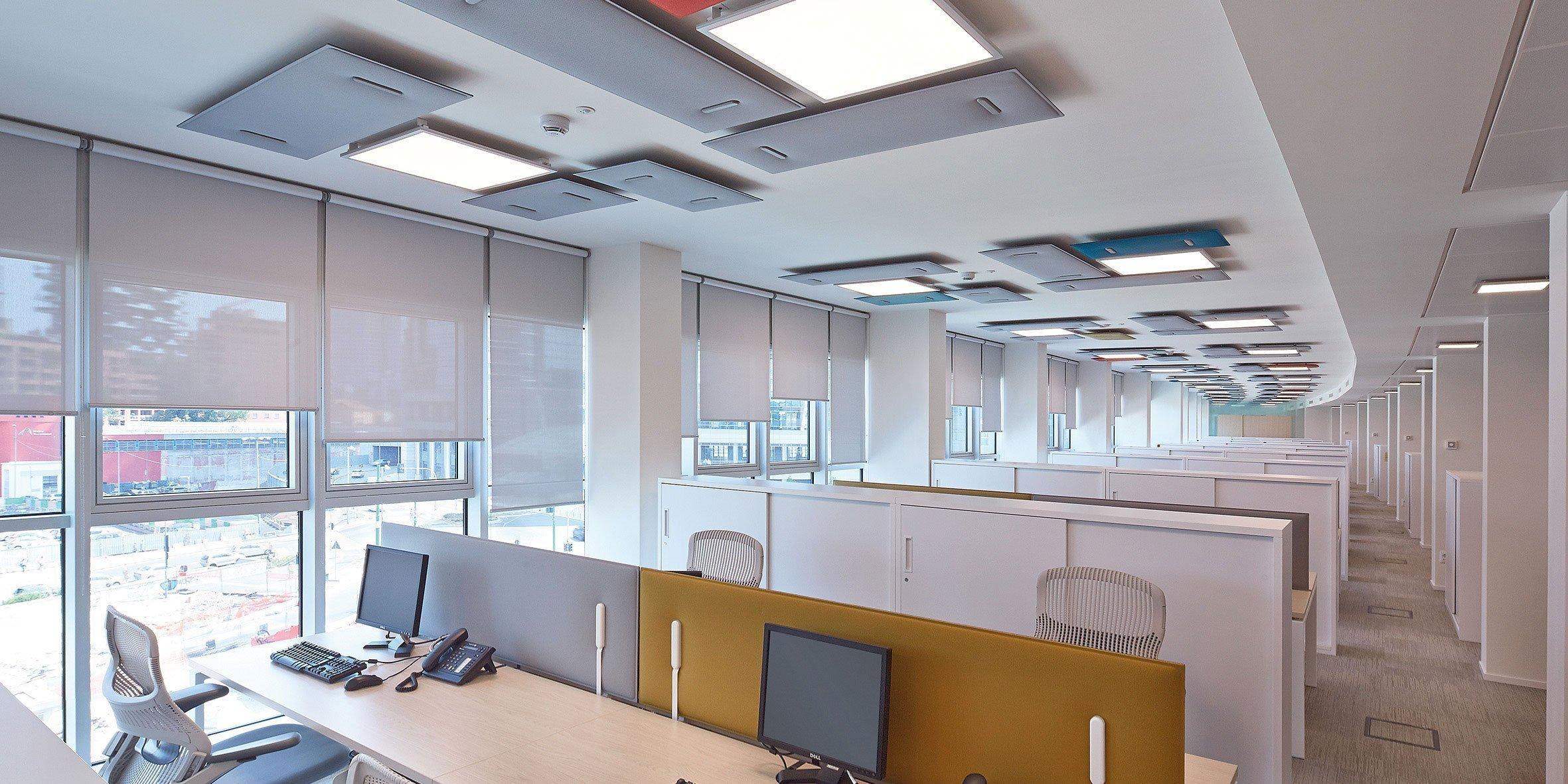 Pannelli fonoassorbenti arredamento per ufficio for Accessori design ufficio