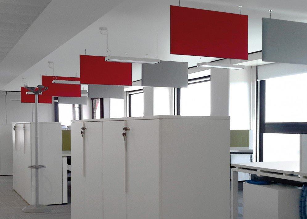 Pannelli fonoassorbenti arredamento per ufficio for Pannelli fonoassorbenti bricoman
