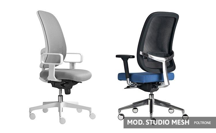 Divani Per Ufficio On Line : Sedie ufficio 015 studio mesh arredoufficio